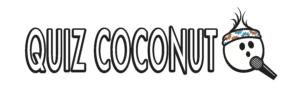 quiz coconut logo corporate events weekly packs