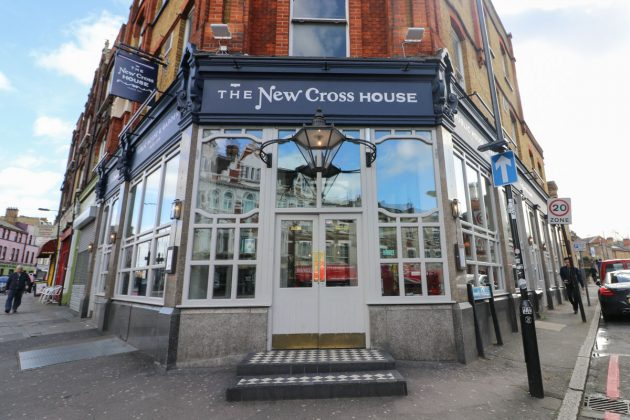 new cross house front image