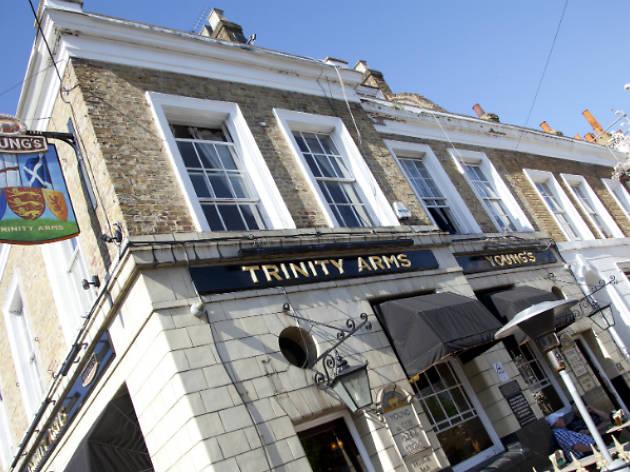 trinity arms outside pub london